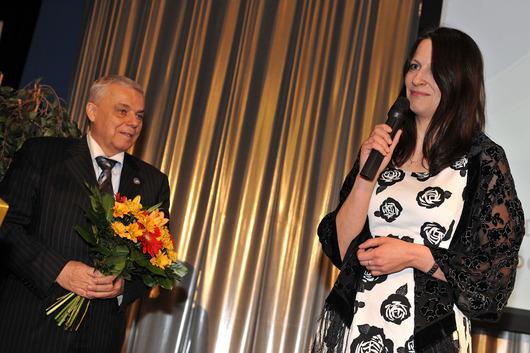 Ilona Klímová - ASPIUS spol. s r.o., vítězka 4. ročníku soutěže Ocenění českých podnikatelek OCP 2011, kategorie Malá společnost