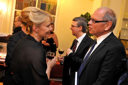 Eva Svobodová (generální ředitelka AMSP ČR), Ivan Pilný (investor)