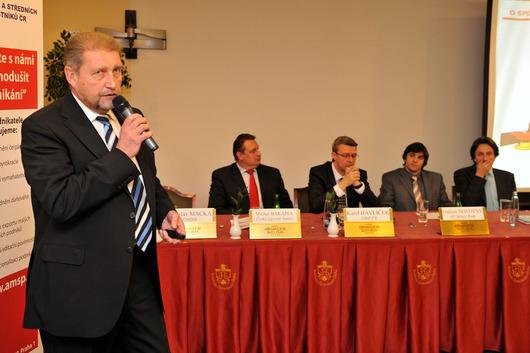 Jiří Belinger - generální ředitel firmy exportující do 30 zemí světa, místopředseda AMSP ČR