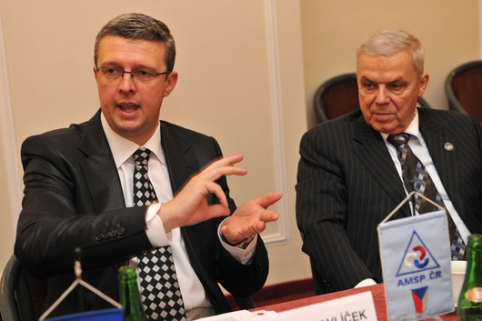 Karel Havlíček (Chairman - left) and Karel Dobeš (Vice Chairman)